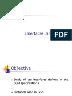 GSM InterfacesTTA