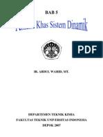 Bab 5 Perilaku Khas Sistem Dinamik