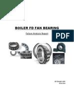 Boiler FD Fan, Bearing Failure Case Study