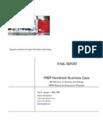 Business Case FREP Handheld