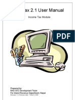 Pro Tax 21 User Manual