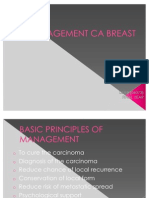 Management CA Breast