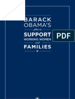 Barack Obama's Plan to Support Working Women and Families
