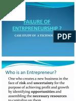 Failure of Entrpreneurship
