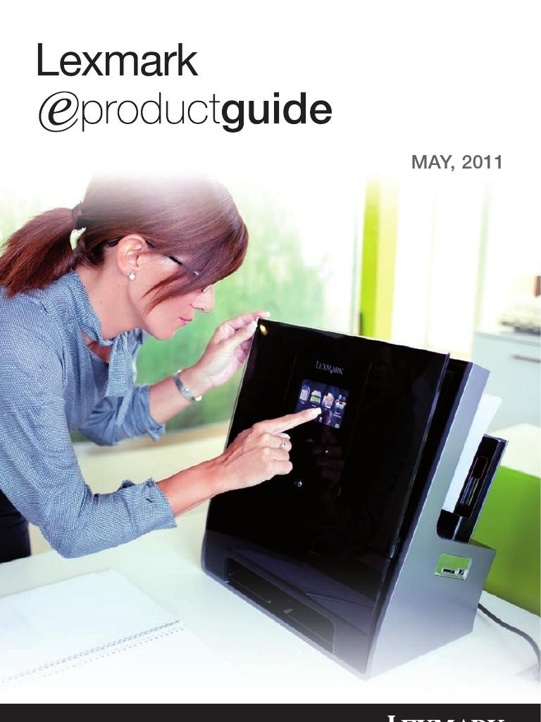 Lexmark E-Guide 2011 Maj | Linux | Remote Desktop Services