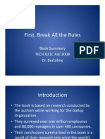 PPT First Break All the Rules