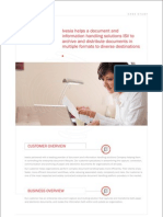 Case Study on Document and Information Handling Solutions ISV  - Ivesia Solutions