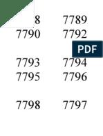7788       7789        7790       7792