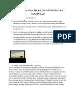 Fungsi Peralatan Teknologi Informasi Dan Komunikasi