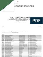 Listas definitivas de não permanência da situação de doença ou deficiência; 2011.ago.04