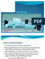 Booking Building & Anchor Investor