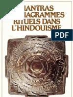 Mantras Et Diagrmammes Rituels Dans l.hindouisme.(T.ronde)(Paris,1986)