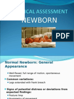 Physical Assessment of Newborn