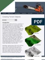 3D Studio Tutorial - Creating Terrain Objects