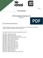 GU Dct4+ Standalone Manual