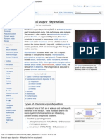 Chemical Vapor Deposition - Wikipedia, The Free Encyclopedia