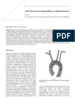 Implication of Thoracic Aortic Stent-Graft Conformability on Clinical Outcomes