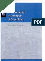 UN Environmental Assessment of Ogoniland