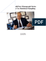 AuditNet Monograph Series Audit Sampling