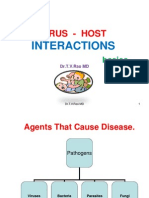 Virus - Host interactions