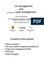 D1 L5 Project Management