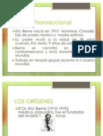 ANALISIS TRANSACCIONAL 2011 ENFOQUES