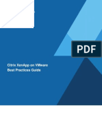 Citrix XenApp on VMware - Best Practices Guide