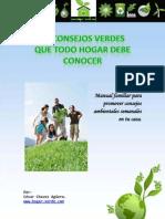 Manual Verde Para Hogares en El Dia de La Tierra