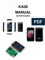 Manual Do Mini HiPhone f007 Ptbr