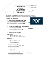 Informe de Gestion 2p 2011