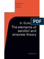 Elements of Aerofoil and Airscrew Theory