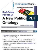 Redefining Politics Part 2 - A New Political Ontology
