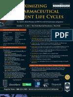 ACI Maximizing Pharmaceutical Patent Life Cycles 2011 NYC