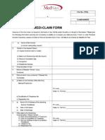 Latest Claim Form