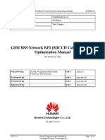 02 GSM BSS Network KPI (SDCCH Call Drop Rate) Optimization Manual