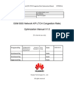 05 GSM BSS Network KPI (TCH Congestion Rate) Optimization Manual