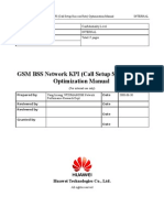 07 GSM BSS Network KPI (Call Setup Success Rate) Optimization Manual