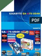 Gigabyte GA-A75-UD4H Motherboard