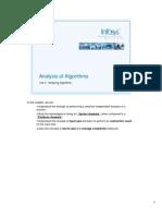 AOA Analyzing Algorithms