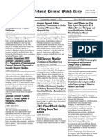 August 3, 2011 - The Federal Crimes Watch Daily