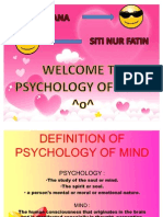 Psychology of Mind
