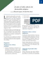ACTITUD ANTE EL NIÑO AFECTO DE DERMATITIS ATÓPICA