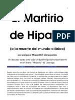 El Martirio de Hipatia