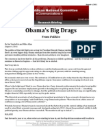 In Case You Missed It ... Obama's Big Drags