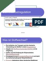 Stoffwechselregulation