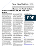 August 4, 2011 - The Federal Crimes Watch Daily