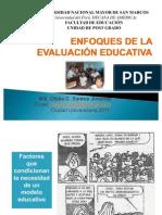 Enfoque de La Evaluacion Educativa