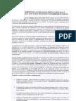 Pronunciamiento de Las Organizaciones Nacionales e Internacionales Afectadas Por Proyectos Hidroeléctricos