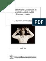 Recursos Para La Investigación en La Adquisición-Aprendizaje de Segundas Lenguas