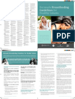 2857 Breast Feeding Guidelines Brochure